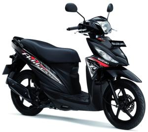 Suzuki Adress Hitam
