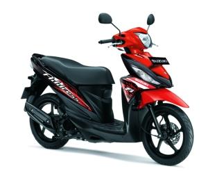 Suzuki Address merah