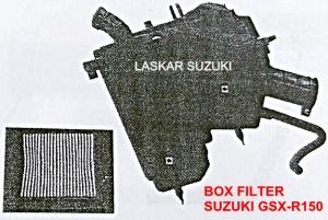 kotak udara suzuki gsx-r150