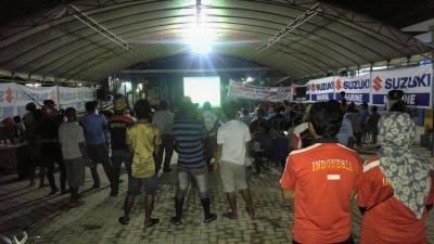 nobar SUZUKI AFF Indonesia