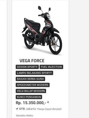Vega Force Laskar SUZUKI
