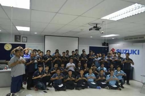 Training GSX-r150 SUZUKI Thailand