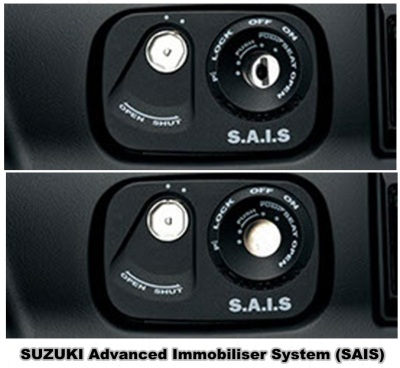 Suzuki Advanced Immobiliser System (SAIS)