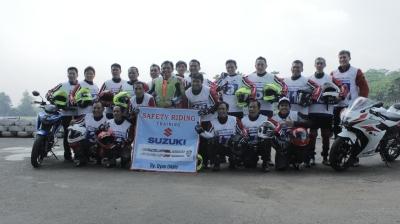 Safety riding with Suzuki